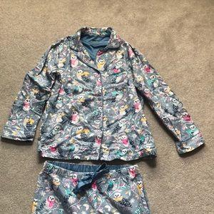 Nick and Nora Owl Pajama Set
